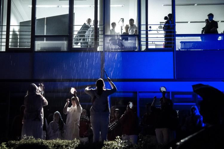 Samba im Regen